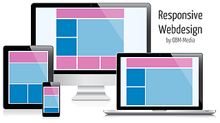 Responsive Webdesign by OBM-Media e.K. - Joomla! + WordPress Agentur